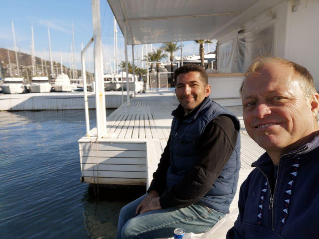 Lunch Break (Ahmet+Hubert)