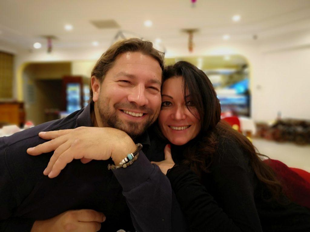 Noelia+Roman in Yacht Marin Restaurant