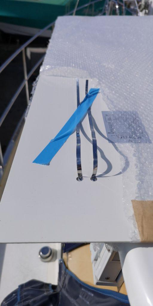 Leiterbahnen auf der Rückseite