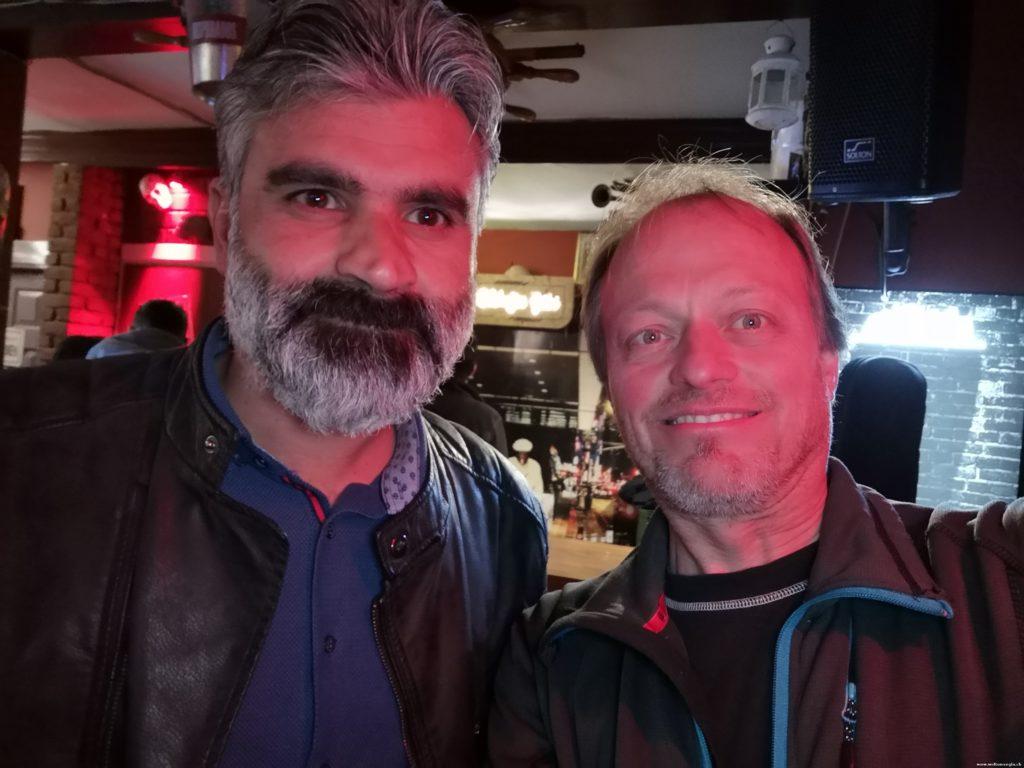 Welcome Party mit meinem Freund Hasan
